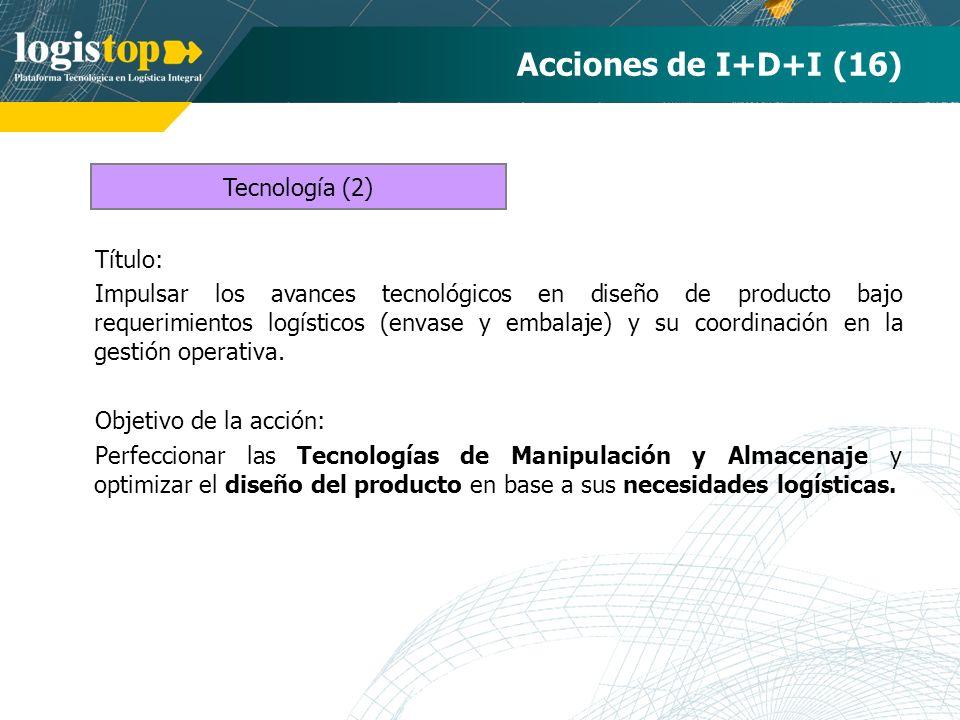 Acciones de I+D+I (16) Tecnología (2) Título: