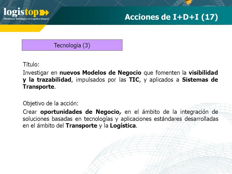 Acciones de I+D+I (17) Tecnología (3) Título: