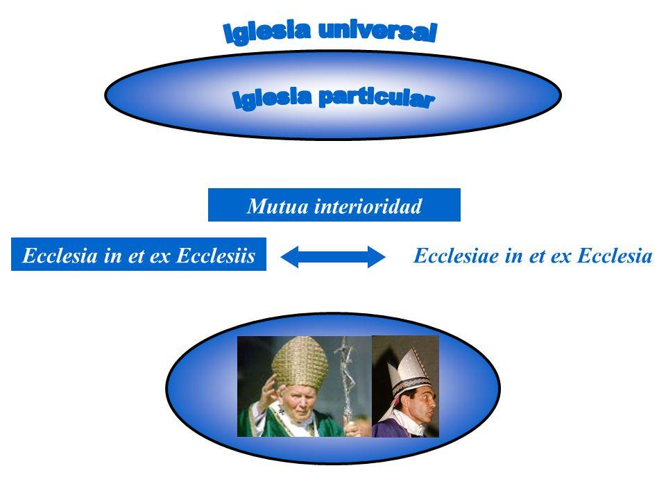 Ecclesia in et ex Ecclesiis Ecclesiae in et ex Ecclesia