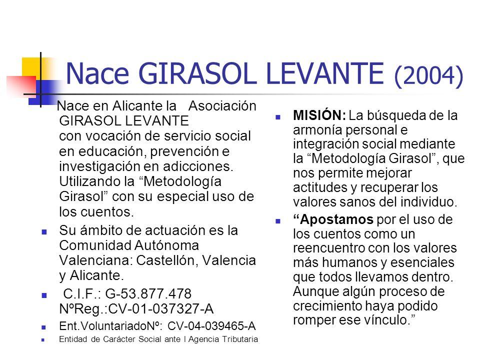 Nace GIRASOL LEVANTE (2004)