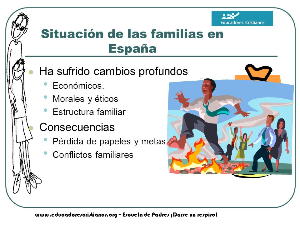Situación de las familias en España