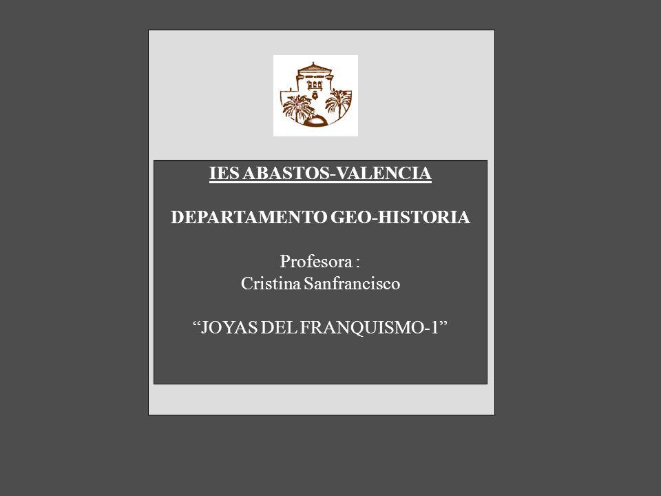 DEPARTAMENTO GEO-HISTORIA