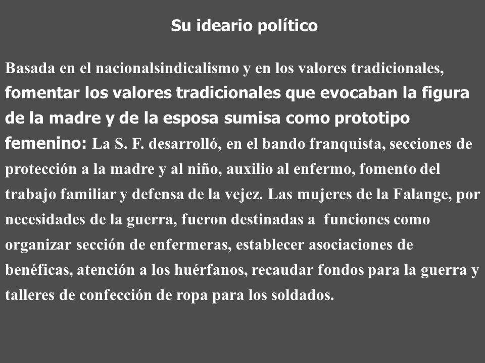 Su ideario político
