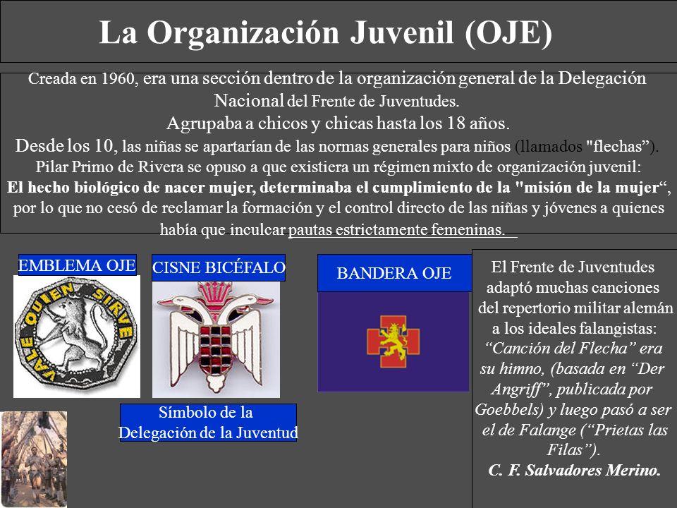La Organización Juvenil (OJE)