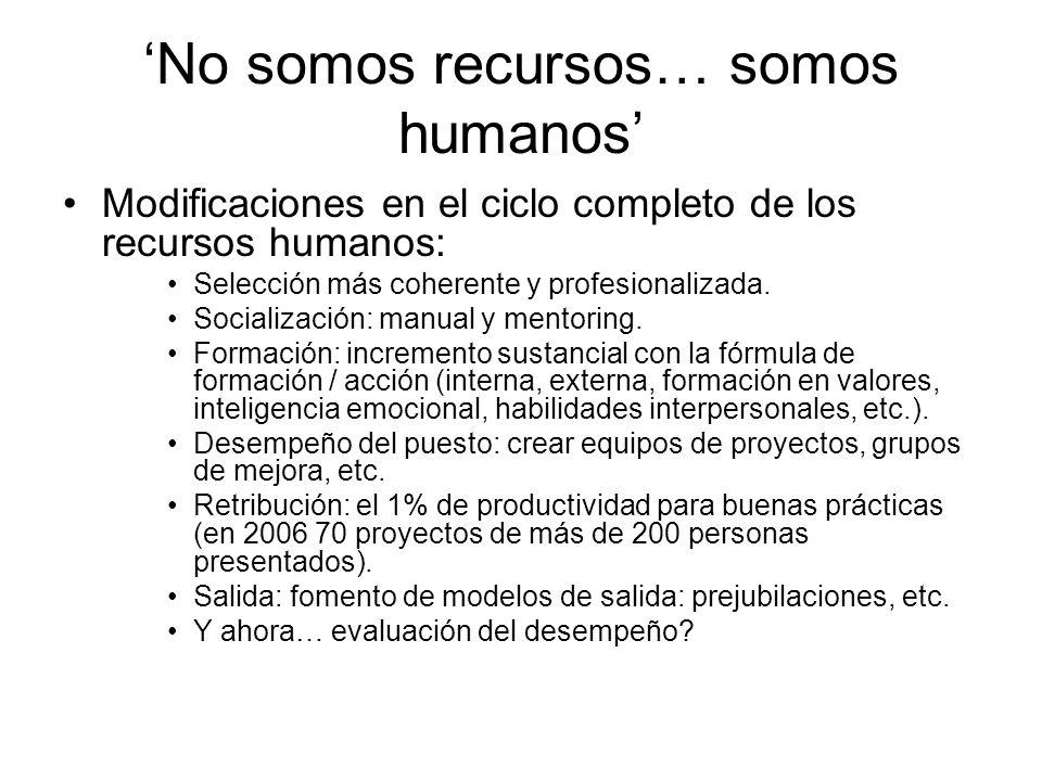 'No somos recursos… somos humanos'