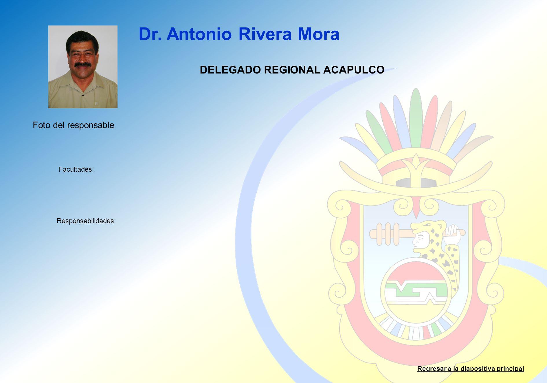 DELEGADO REGIONAL ACAPULCO