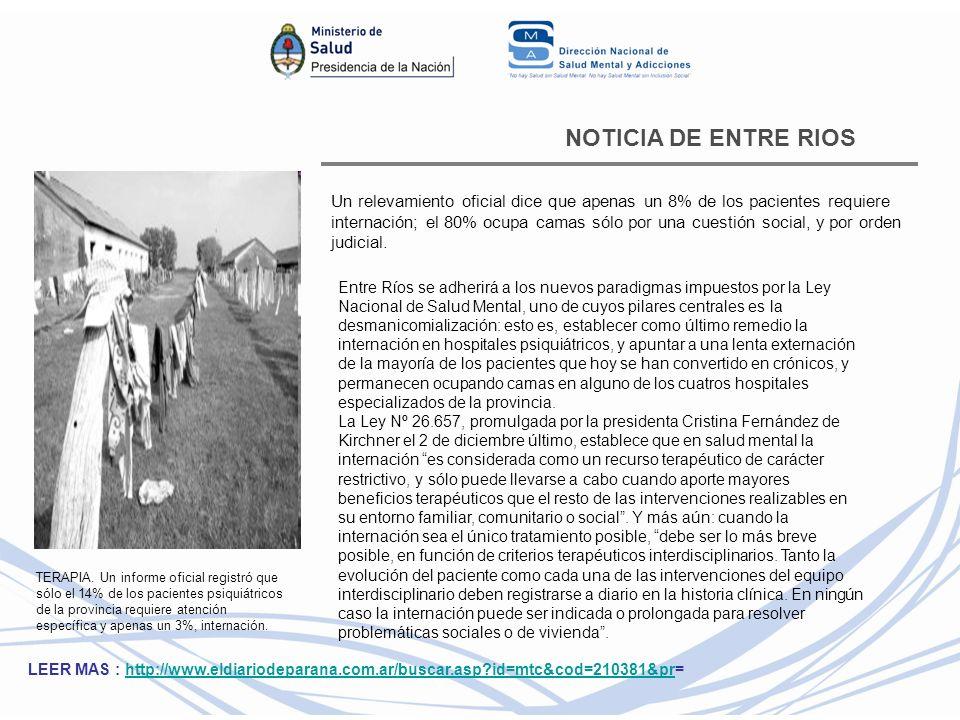 NOTICIA DE ENTRE RIOS