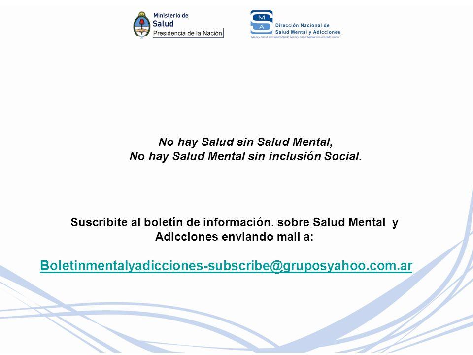 No hay Salud sin Salud Mental,