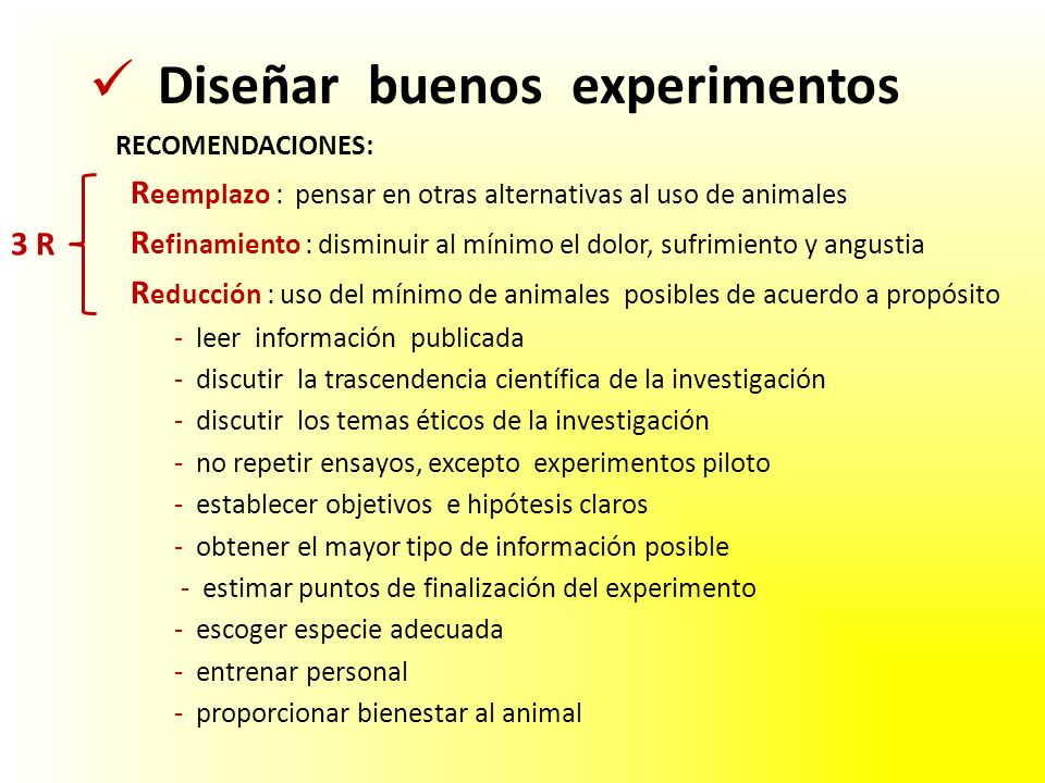 Diseñar buenos experimentos