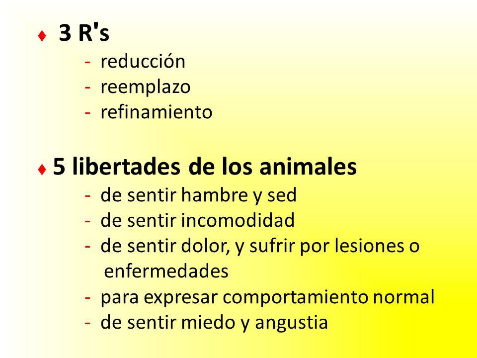  3 R s. - reducción. - reemplazo