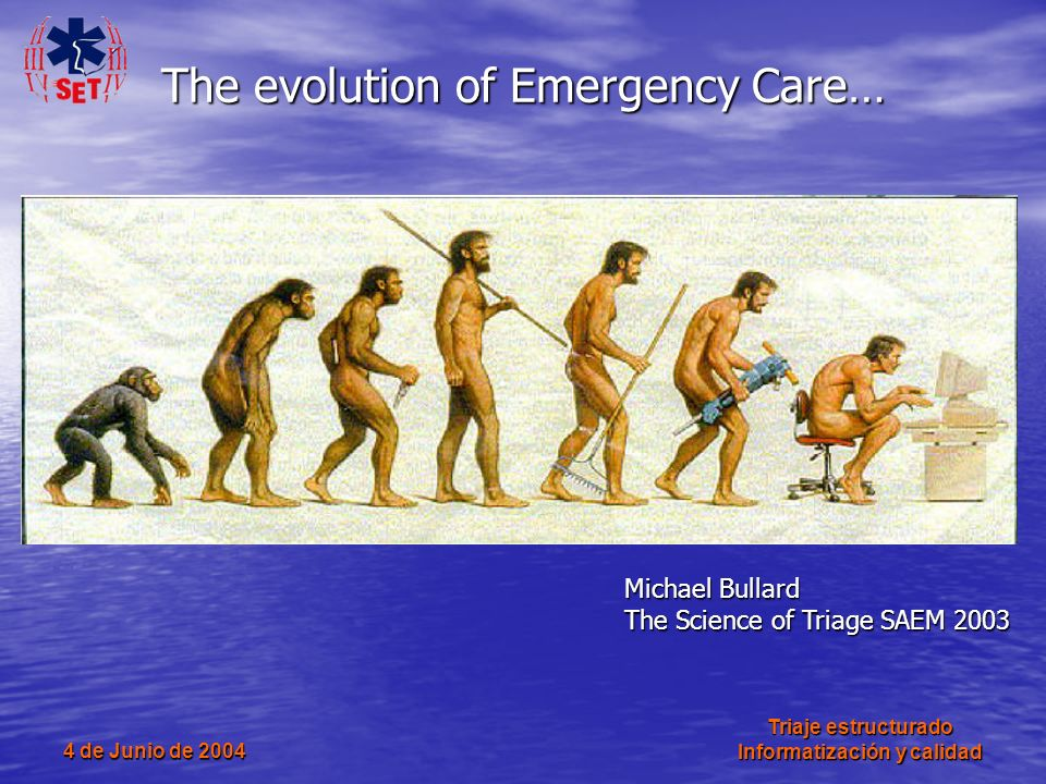 The evolution of Emergency Care…