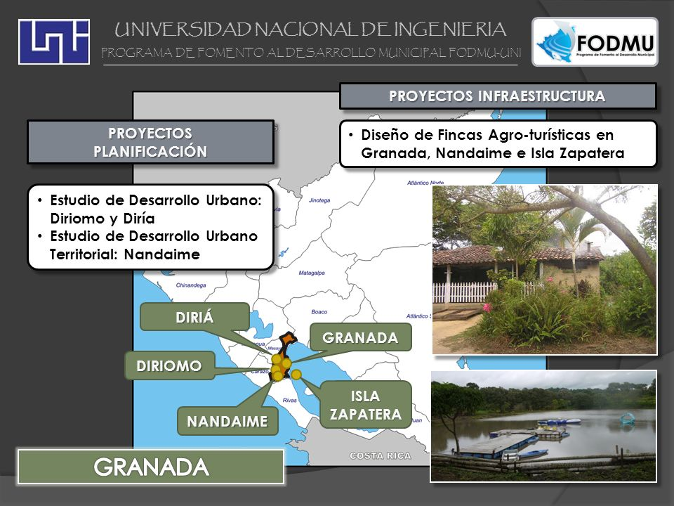 UNIVERSIDAD NACIONAL DE INGENIERIA PROYECTOS INFRAESTRUCTURA