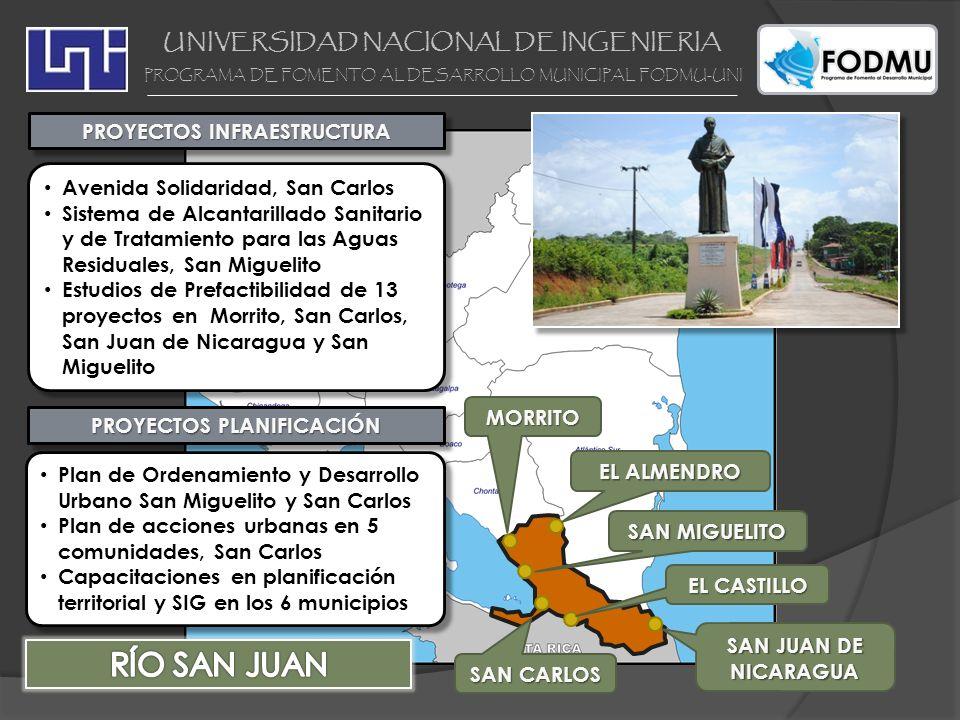RÍO SAN JUAN UNIVERSIDAD NACIONAL DE INGENIERIA