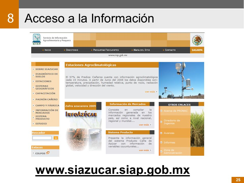 Acceso a la Información 8