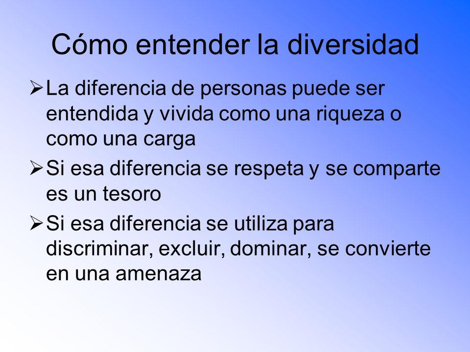 Cómo entender la diversidad