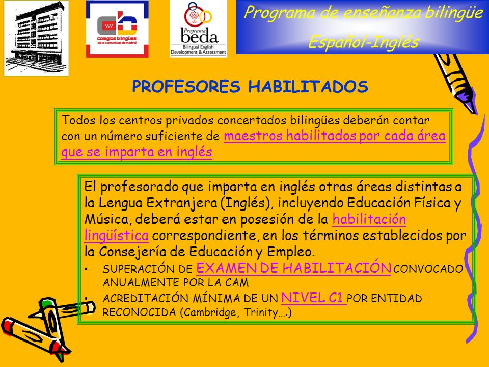 PROFESORES HABILITADOS