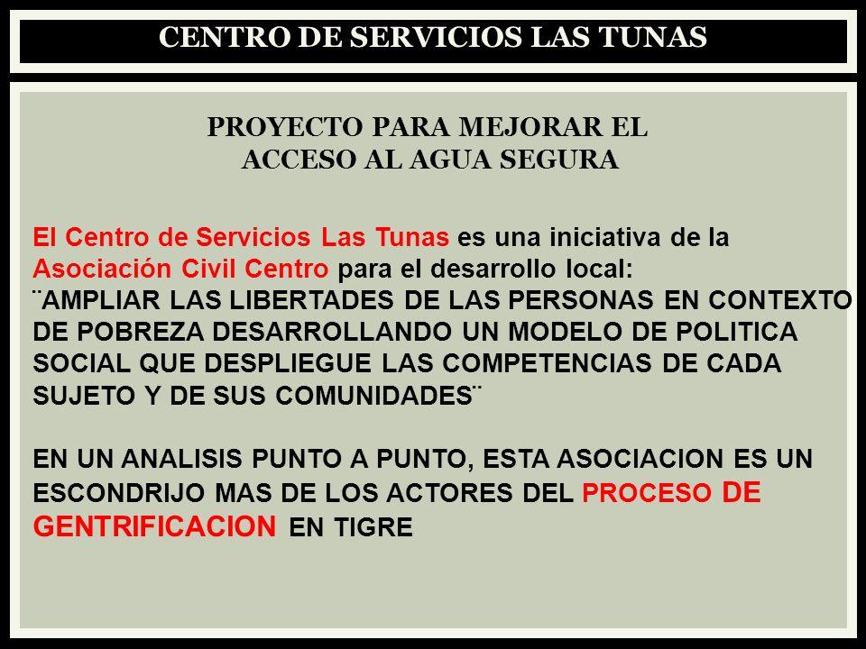 CENTRO DE SERVICIOS LAS TUNAS PROYECTO PARA MEJORAR EL