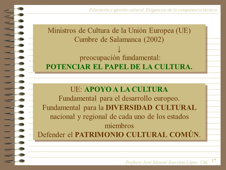 POTENCIAR EL PAPEL DE LA CULTURA.
