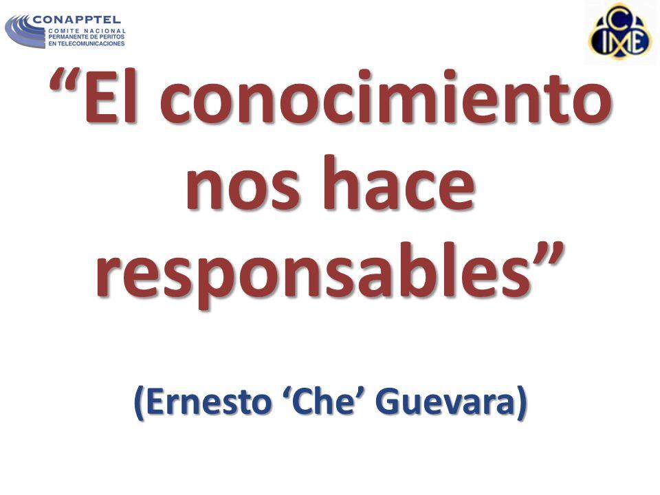El conocimiento nos hace responsables (Ernesto 'Che' Guevara)
