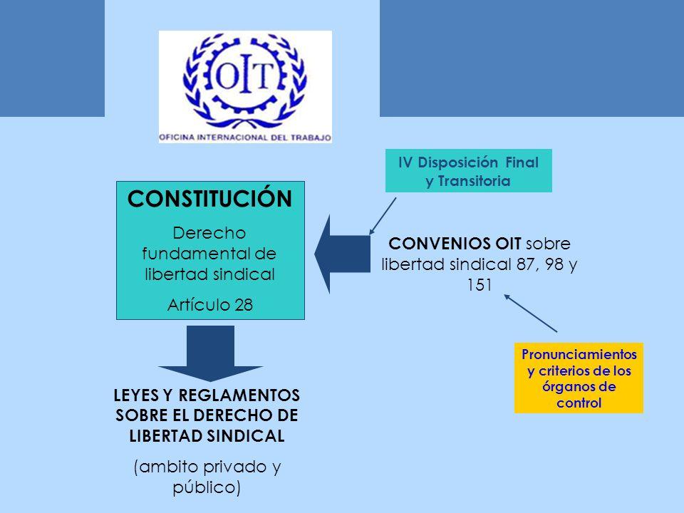 CONSTITUCIÓN Derecho fundamental de libertad sindical Artículo 28