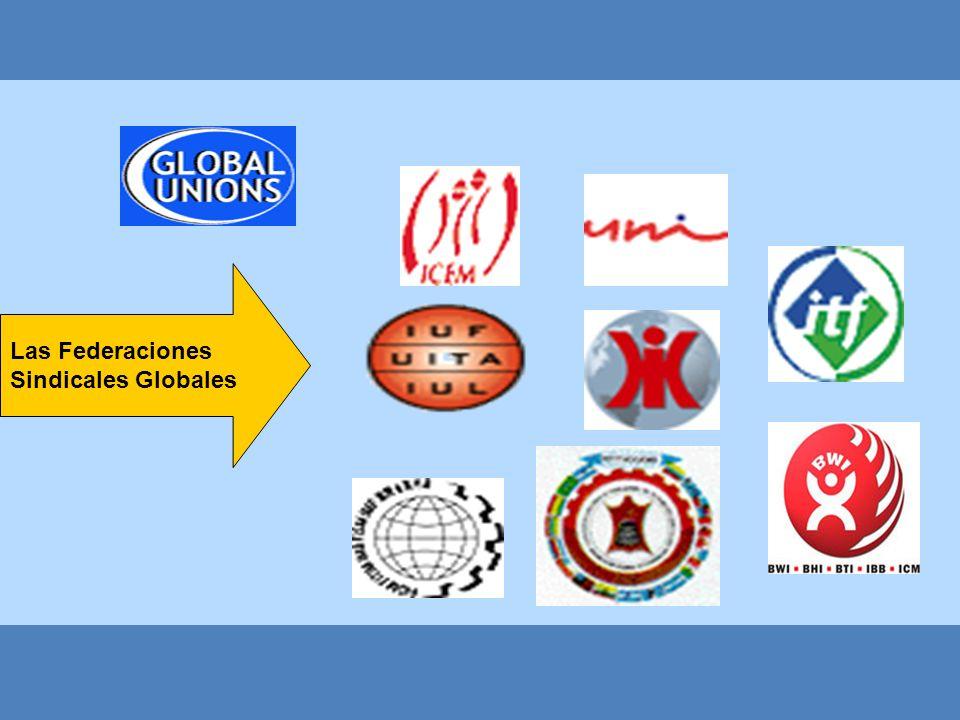 Las Federaciones Sindicales Globales