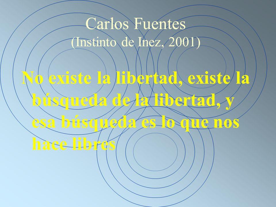 Carlos Fuentes (Instinto de Inez, 2001)