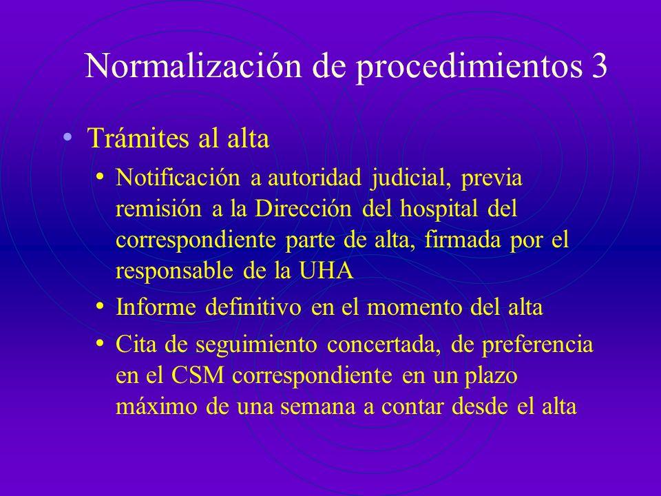 Normalización de procedimientos 3