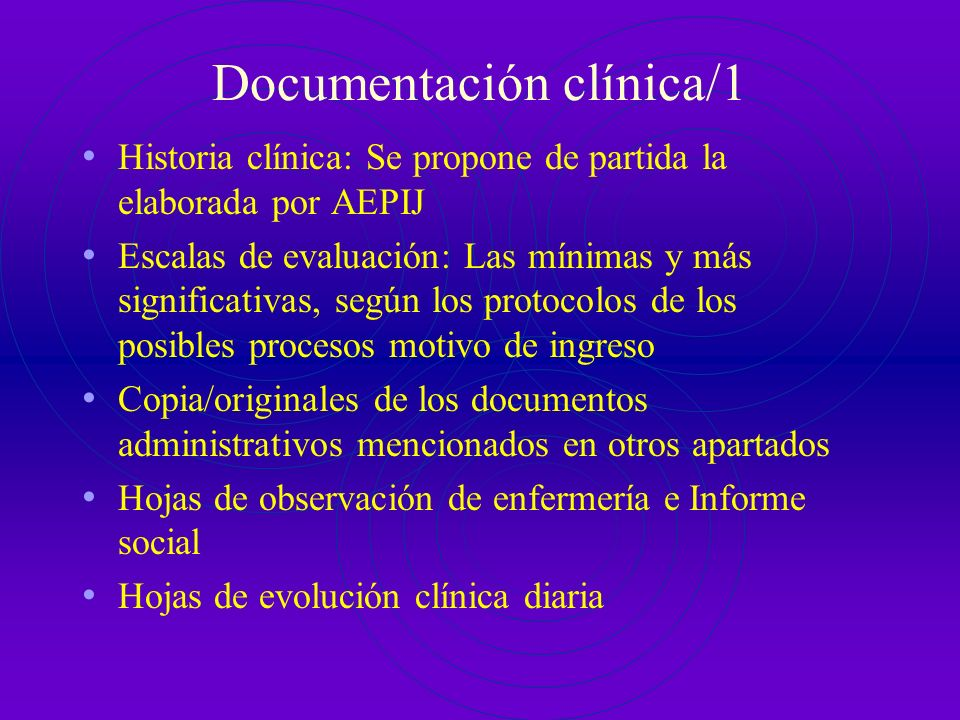 Documentación clínica/1