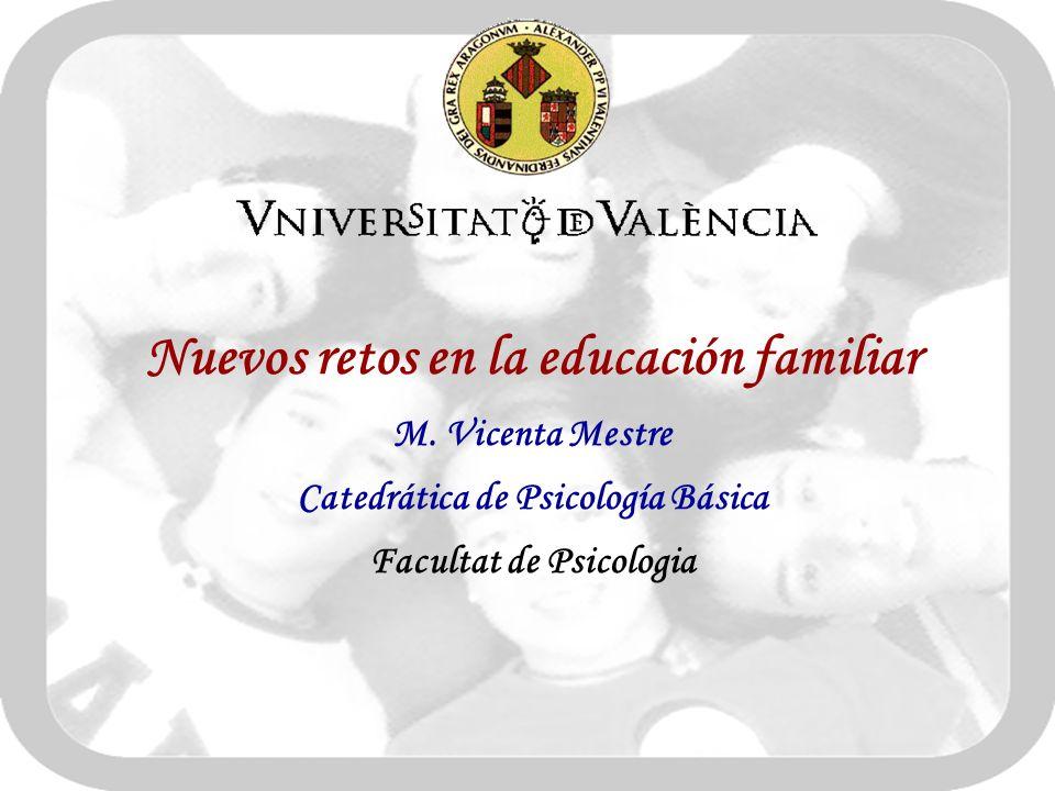 Nuevos retos en la educación familiar M