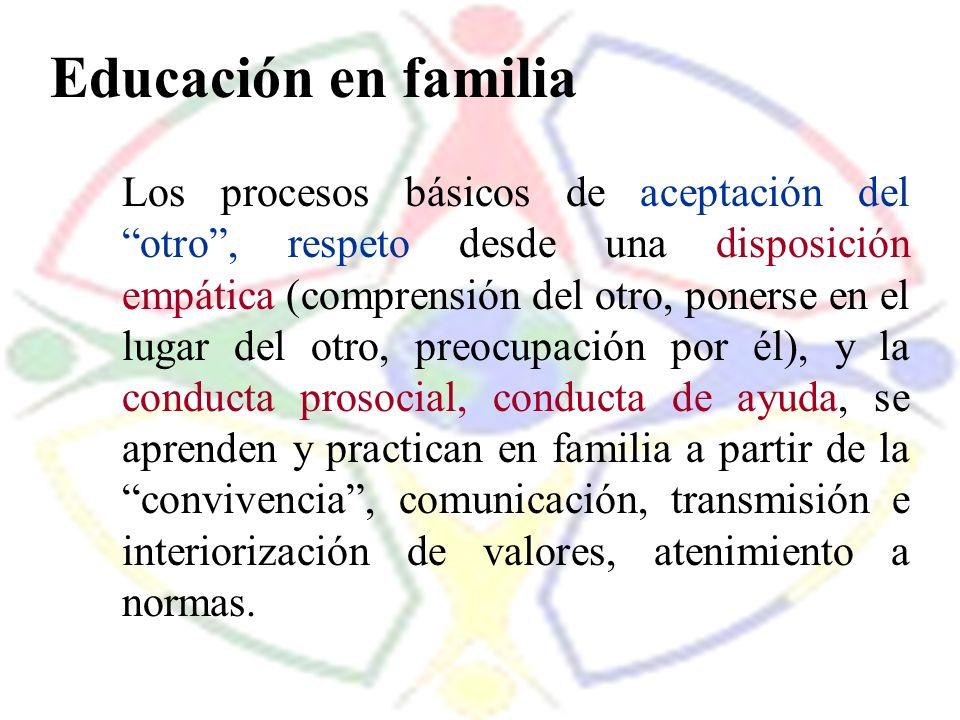 Educación en familia