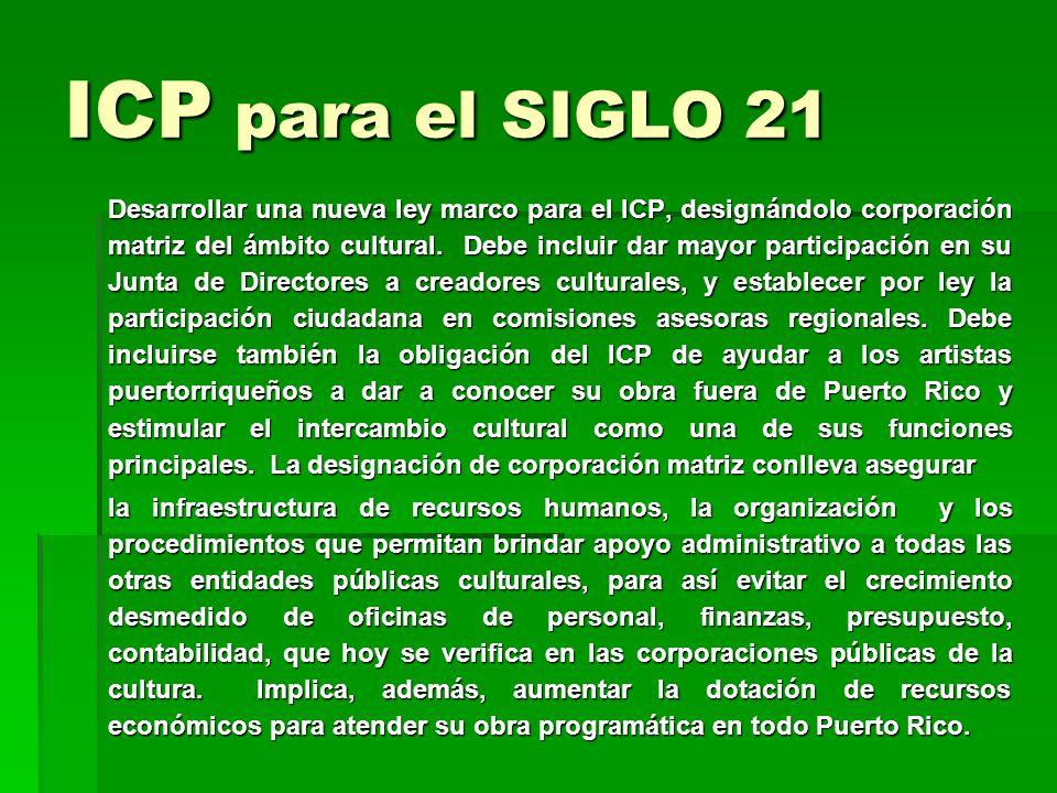 ICP para el SIGLO 21