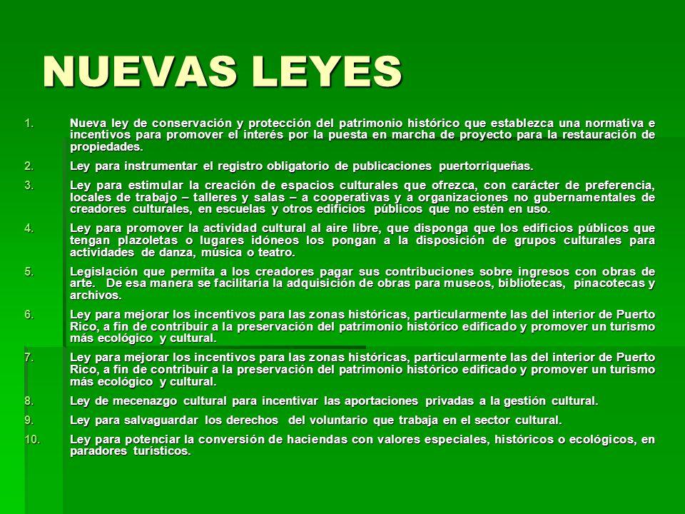 NUEVAS LEYES
