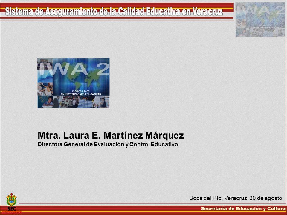 Mtra. Laura E. Martínez Márquez