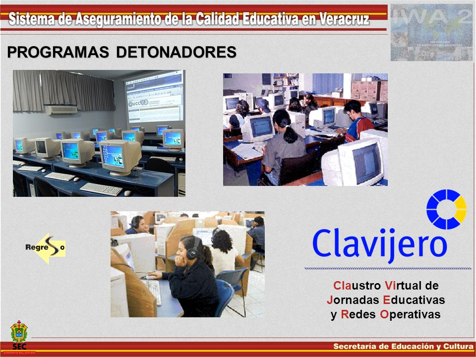 Claustro Virtual de Jornadas Educativas