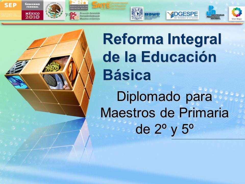 Diplomado para Maestros de Primaria de 2º y 5º