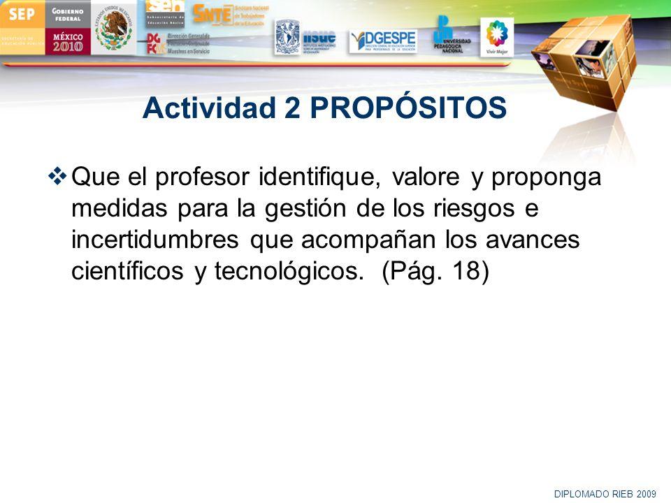 Actividad 2 PROPÓSITOS