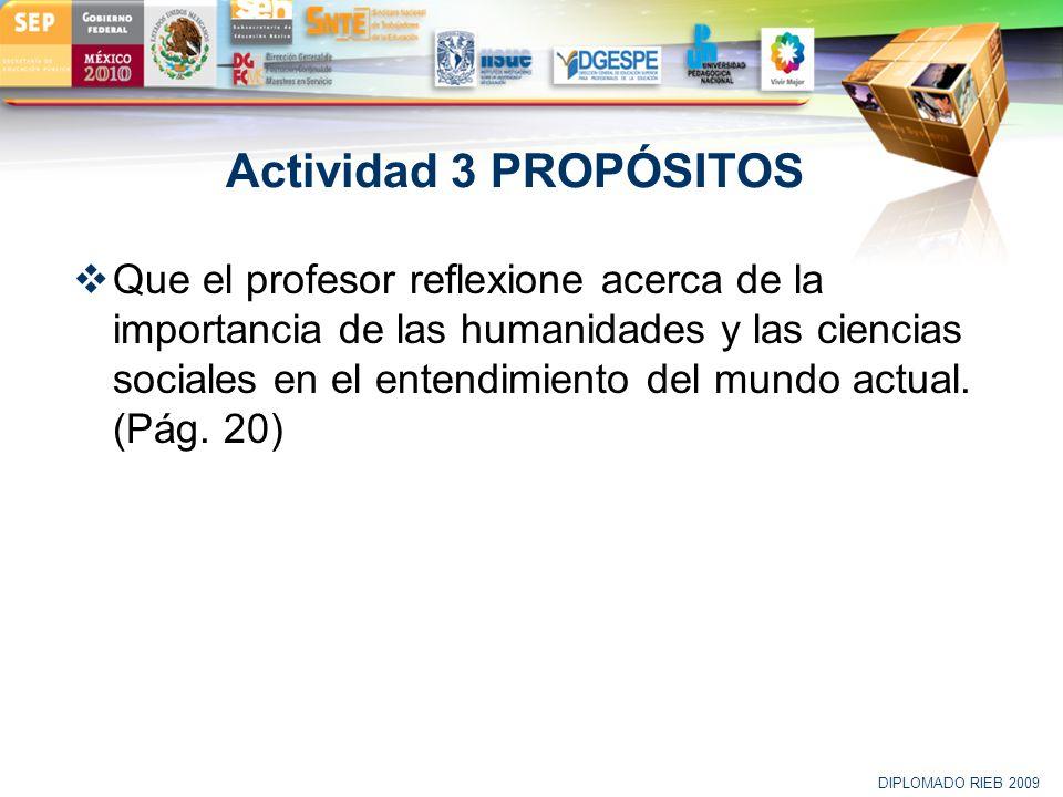 Actividad 3 PROPÓSITOS