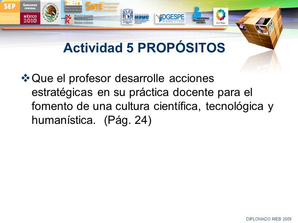 Actividad 5 PROPÓSITOS