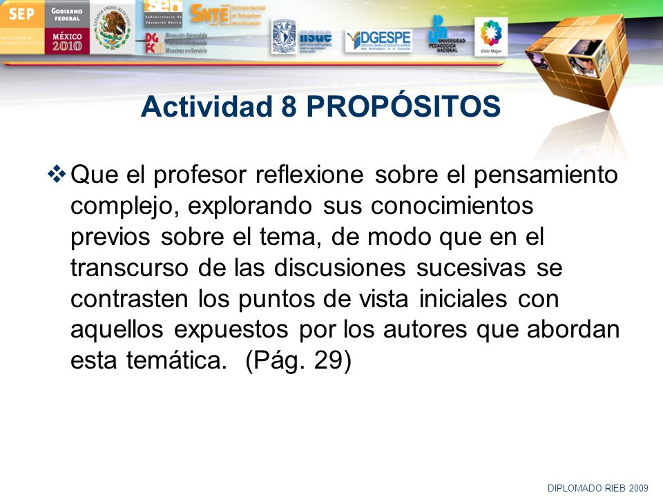 Actividad 8 PROPÓSITOS