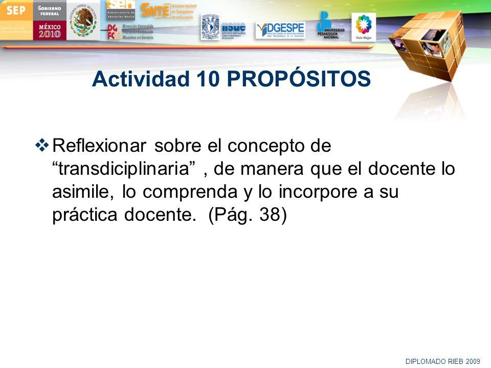 Actividad 10 PROPÓSITOS