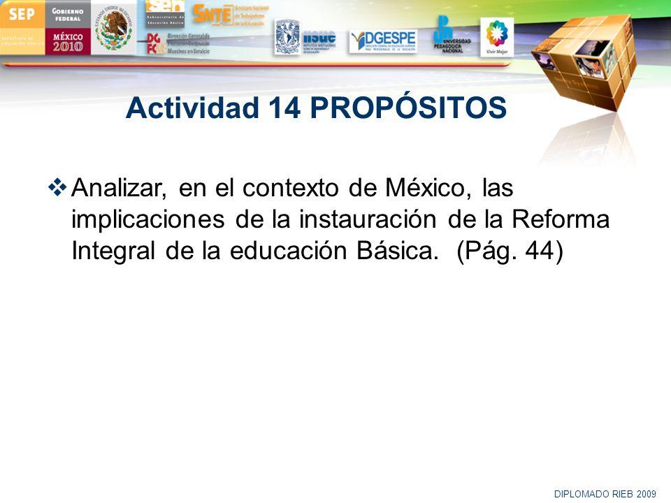 Actividad 14 PROPÓSITOS
