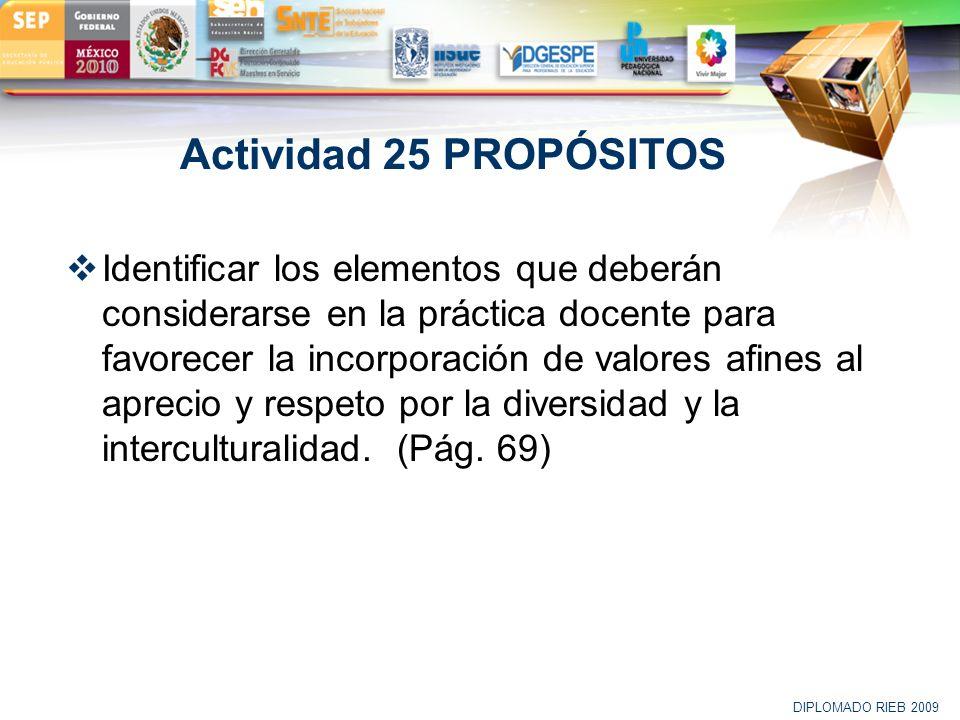 Actividad 25 PROPÓSITOS