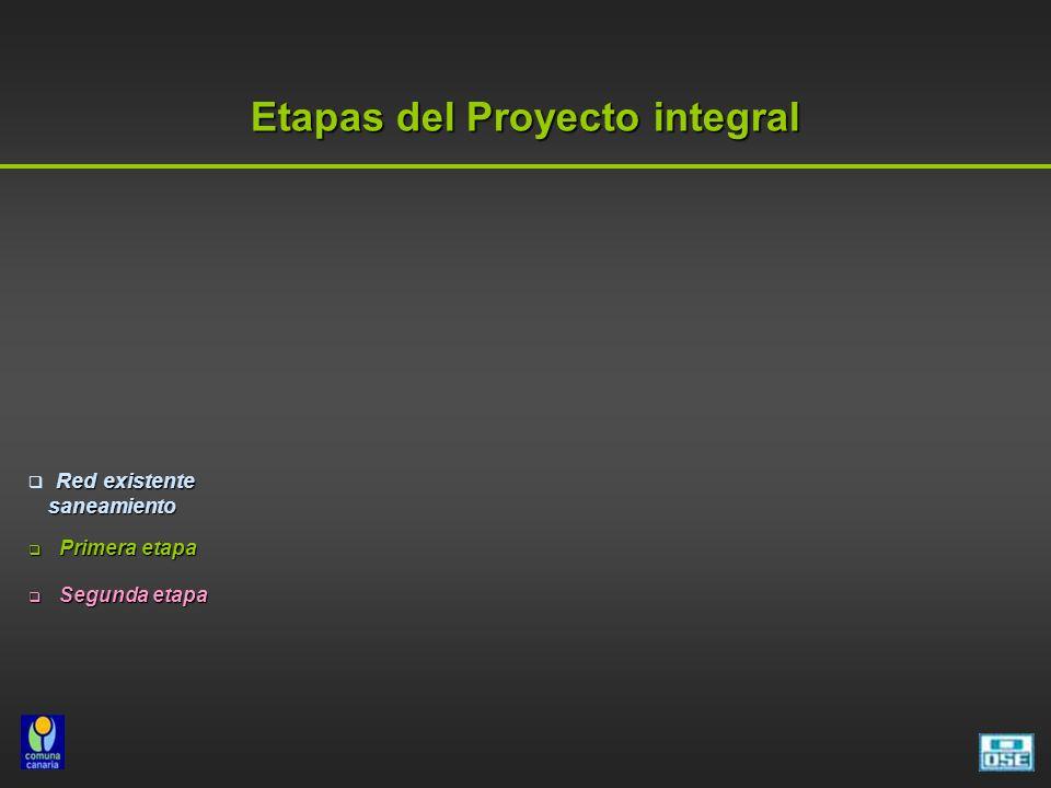 Etapas del Proyecto integral