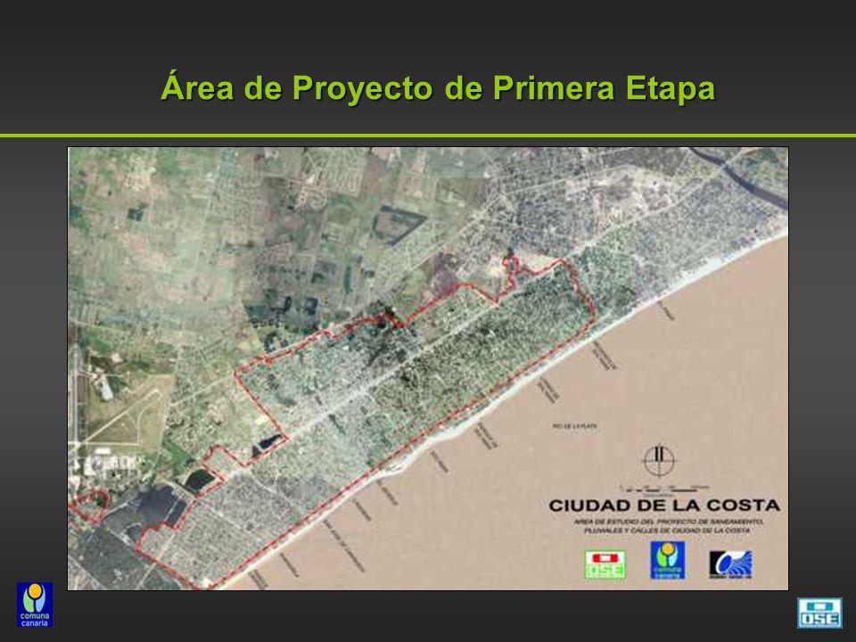 Área de Proyecto de Primera Etapa