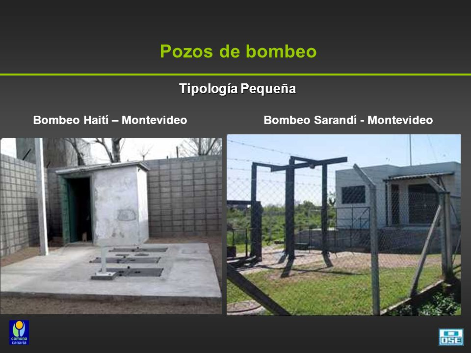 Bombeo Haití – Montevideo Bombeo Sarandí - Montevideo