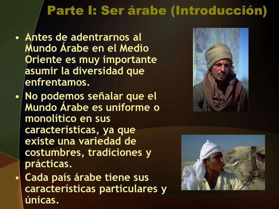 Parte I: Ser árabe (Introducción)