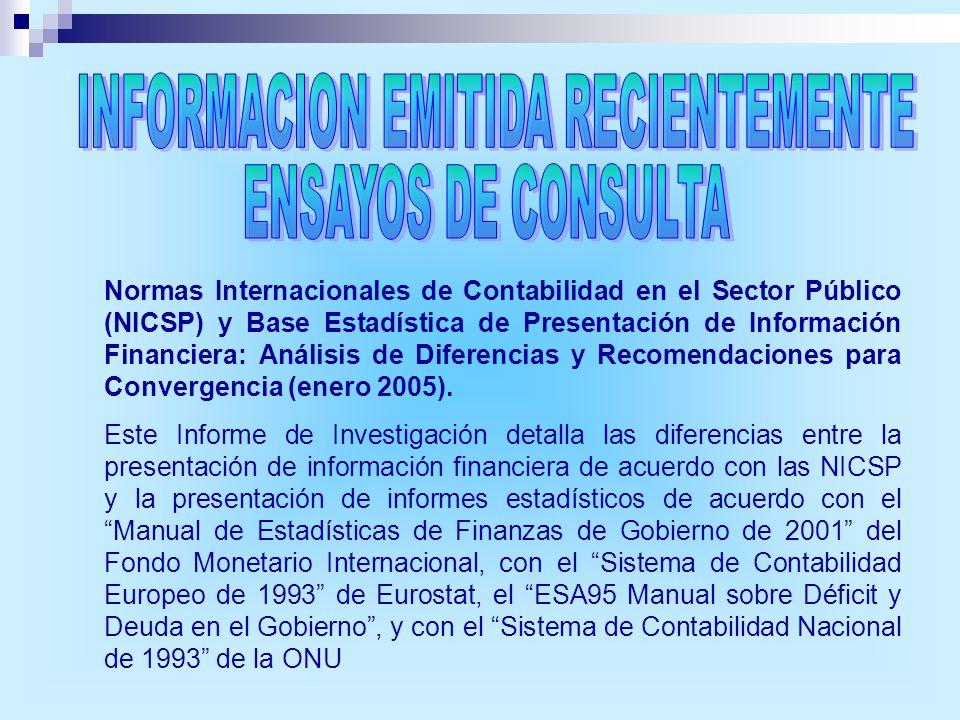 INFORMACION EMITIDA RECIENTEMENTE