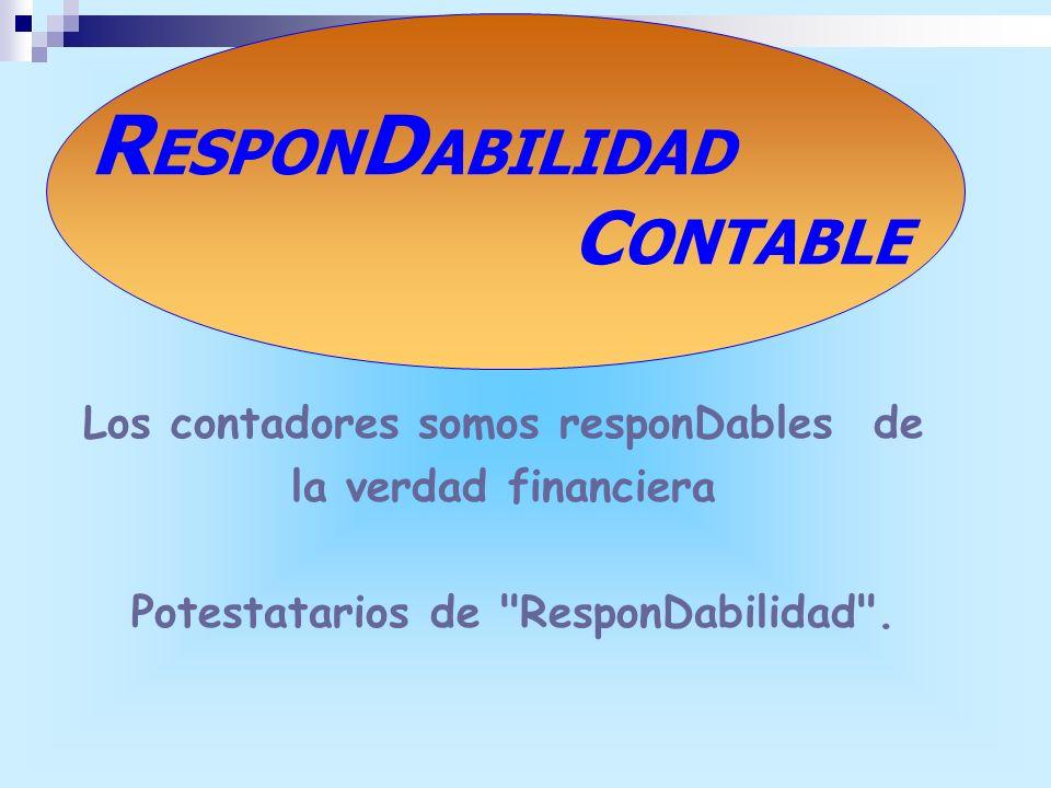 RESPONDABILIDAD CONTABLE