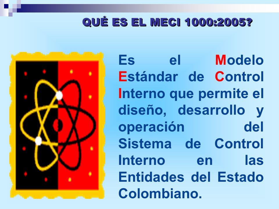 QUÉ ES EL MECI 1000:2005