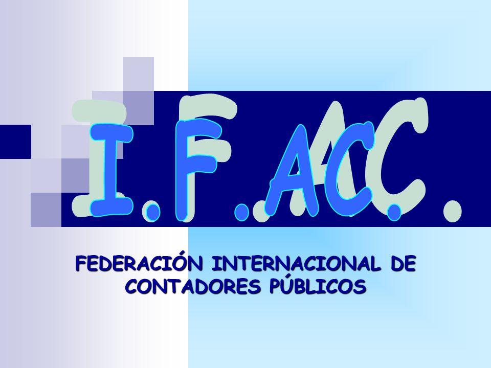 FEDERACIÓN INTERNACIONAL DE CONTADORES PÚBLICOS